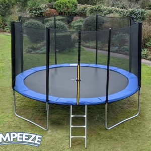Jumpeeze Blue 12ft trampoline package