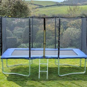 Kanga Blue 9x14ft trampoline package