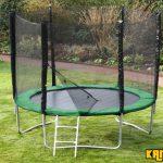 Kanga Hi-Power Green 10ft trampoline package