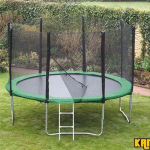 Kanga Hi-Power Green 12ft trampoline package
