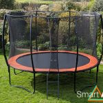 SmartAir Orange 12ft trampoline package
