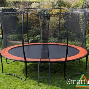 SmartAir Orange 14ft trampoline package