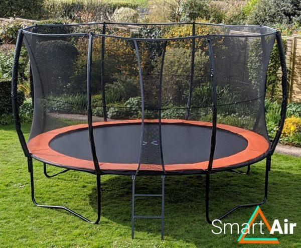 SmartAir Orange 14ft trampoline package